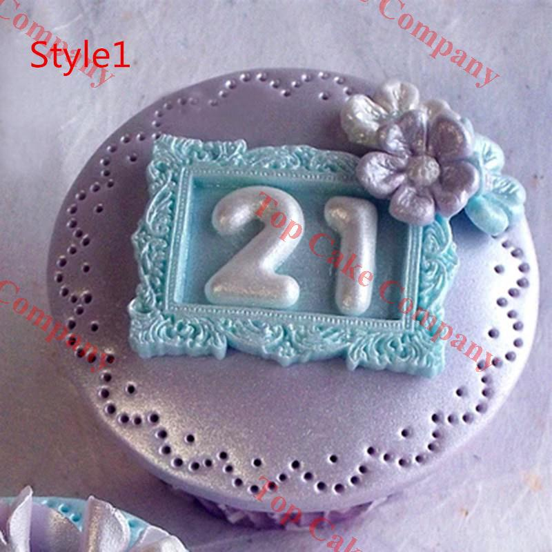 hot mirrorpicture frame modelling 3d soap mold cake decoration mold cake mold manual handmade soap mold candle wholesale