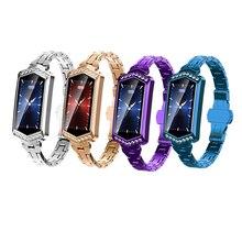 B78 Smart Watch Women Fitness Bracelet Heart Rate Tracker Monitor Pedometer Blood Pressure Oxygen Smartwatch