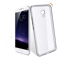 10 PCS Slim Cover Clear Soft TPU Case For Meizu MX4 MX5 MX6 Pro U10 U20