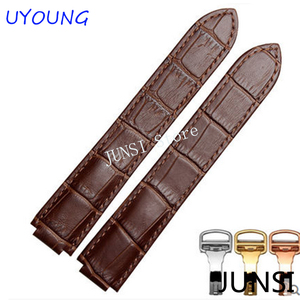 Image 2 - Leather Strap Watch Band 18/20/22mm Watchband Blue Balloon Wristwatch Replacement Strap +Folding Buckle+Tools for Cartier Watch