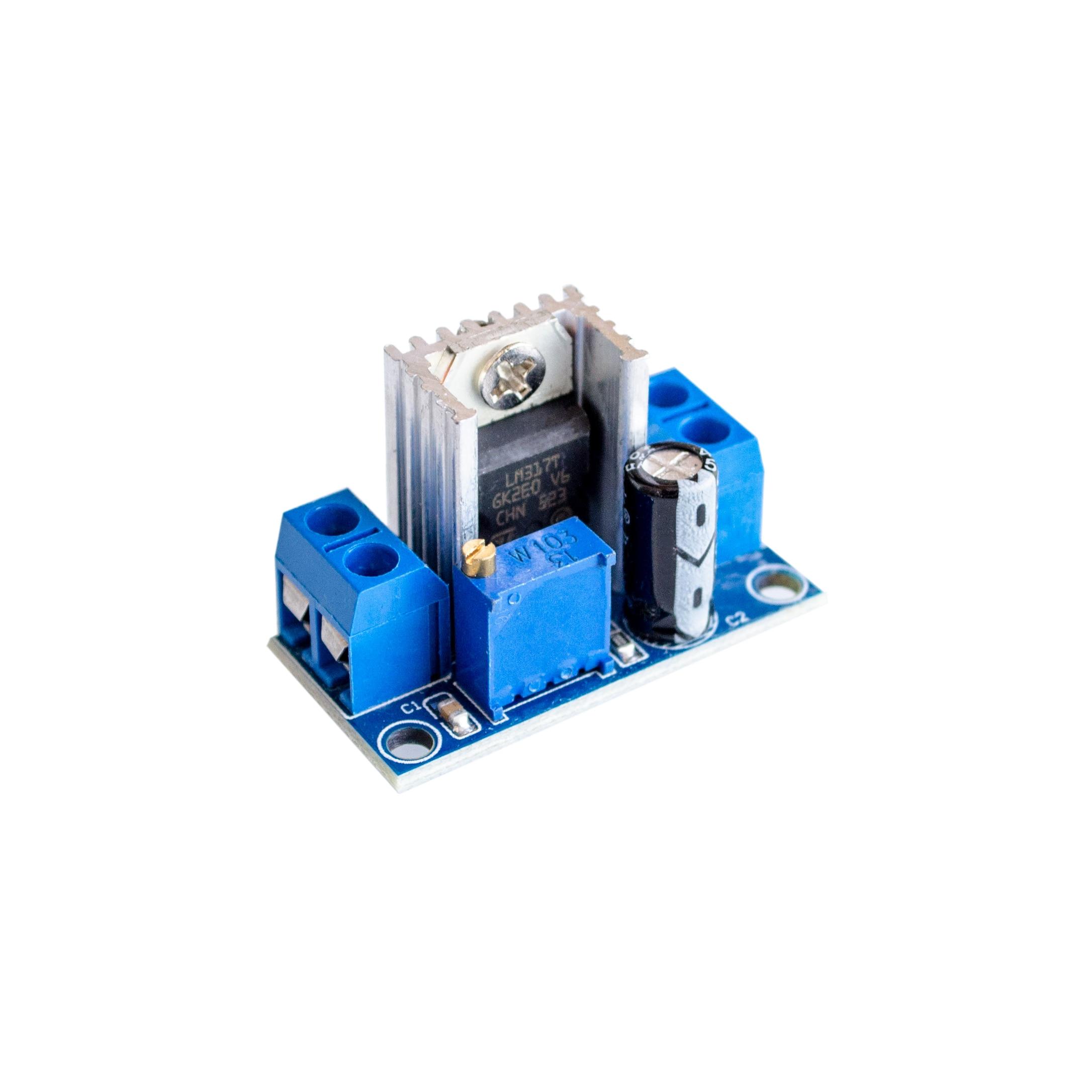 Lm317 Dc Converter Buck Step Down Circuit Board Module Linear Voltage Regulator Calculator Electronic Circuits Schematics Adjustable