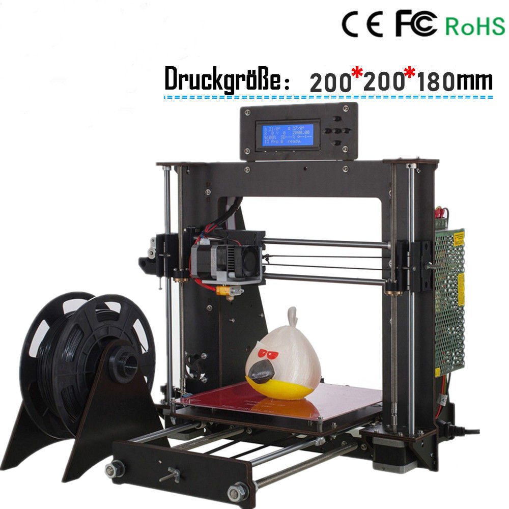 CTC A8 3D Printer DIY i3 Upgradest High Precision Reprap Prusa 3d Drucker 2016 upgrade free shipping 3d printer high precision reprap prusa i3 220 220 240mm 3d printer diy kit 0 5kg filament 8g sd card