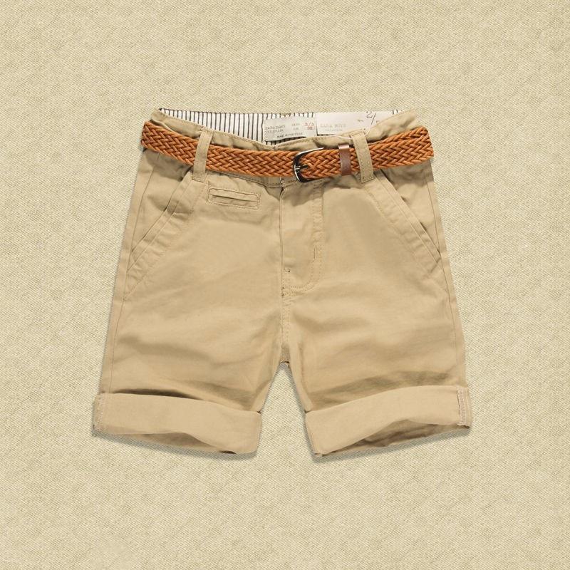 Teen 2017 Summer New Children Short Pants Boys Kids Cotton Casual - Ubrania dziecięce - Zdjęcie 1