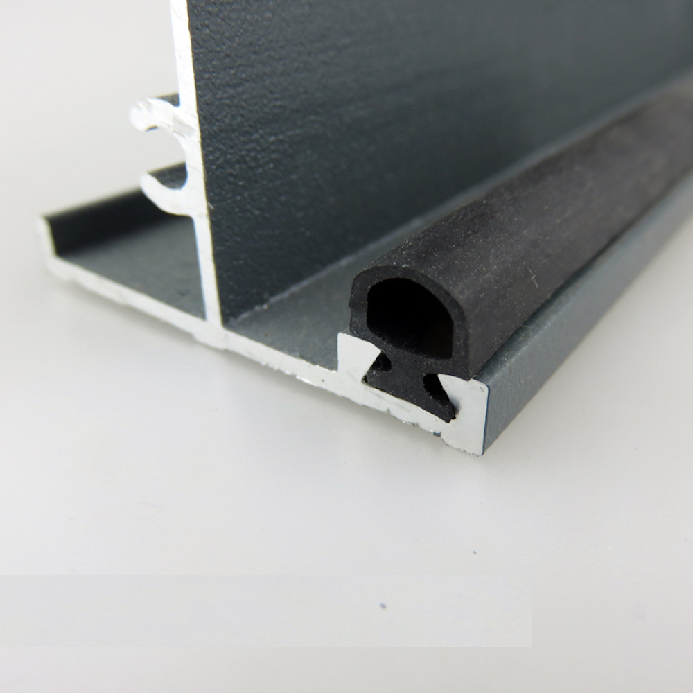 Aluminium Door Window EPDM Rubber Sealing Strip Sliding Screen Sash Seals Gasket Draft Stopper 5x7mm 6x8mm 7x9.5mm 10m Black Odd