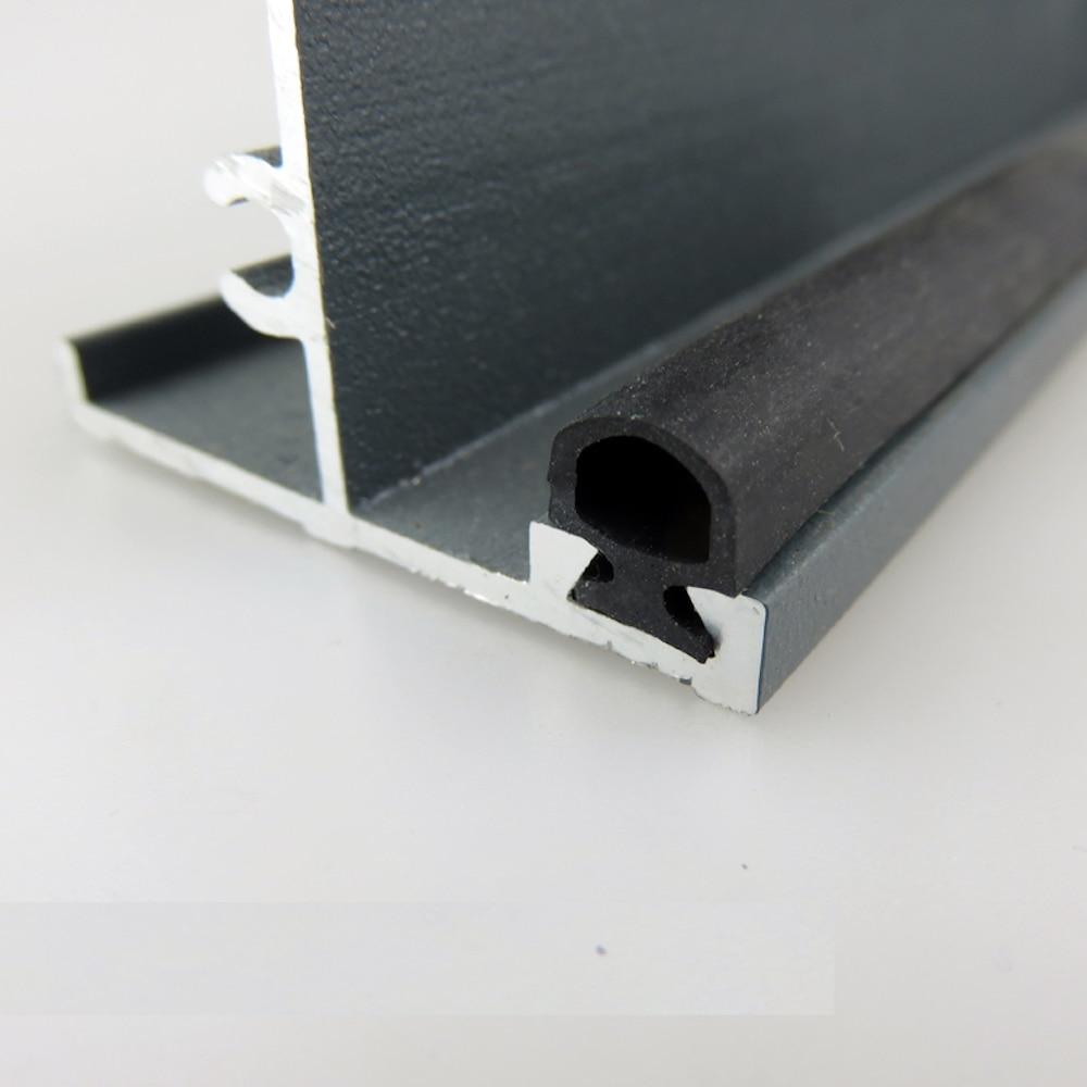 Aluminium Door Window EPDM Rubber Sealing Strip Sliding Screen Sash Seals Gasket Draft Stopper 5x7mm 6x8mm 7x9.5mm 10m Black Odd