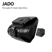 JADO D770S 2.0 Car Dvrs Full HD 1080P Mini Car Dvr with two cameras Video Recorder 140 degree Car Camera Registrar Dash cam
