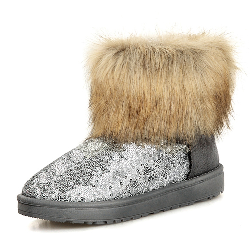 Popular Glitter Snow Boots-Buy Cheap Glitter Snow Boots lots from