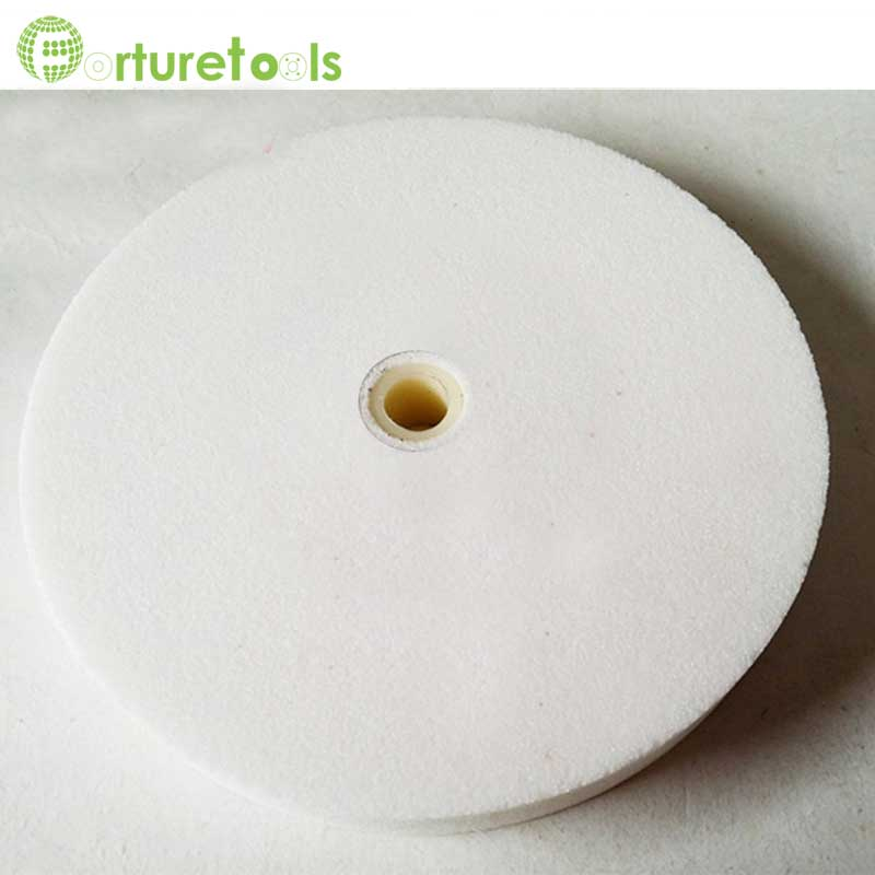 Meule 1 pièce en oxyde d'aluminium noir et blanc et carbure de - Outils abrasifs - Photo 4