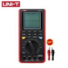 UNI T UT81B UT81C Handheld Oscilloscope มัลติมิเตอร์แบบดิจิตอลจริงอัตราตัวอย่าง AC DC ความต้านทานความจุความถี่