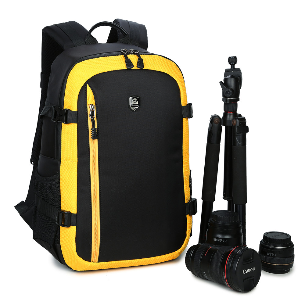 Waterproof Camera Backpack Camera Photo Backpack Photo Bag For Canon 5D 7D 600D Nikon D7100 D7200 dslr camera backpack padding lens divider insert bag with 15 laptop pack travel bag for canon 5d 7d 600d nikon d7200 sony a6000