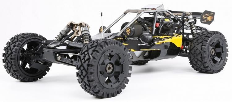 Nouveau Style 1:5 Rovan 1/5 2WD BAJA 5B 320C gaz Baja Buggy 32cc moteur RTR haute Performance