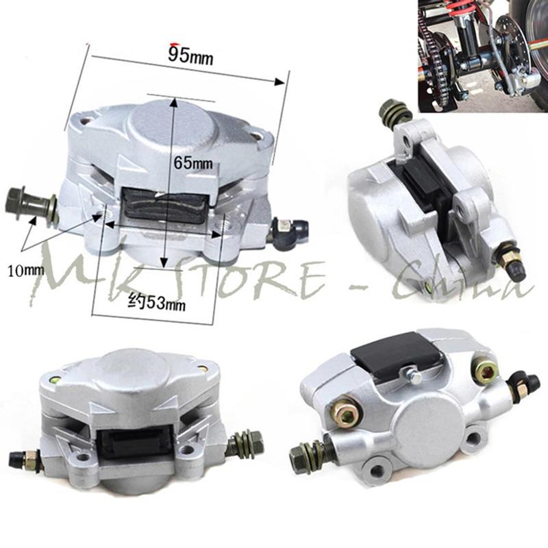 Hydraulic Rear Disc Brake Caliper System With Pads 150cc 200cc 250cc Quad Dirt Bike ATV