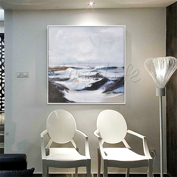 Hand painted canvas oil paintings Cheap large modern abstract cuadros Home decor Canvas quadro wall Art pictures 00007