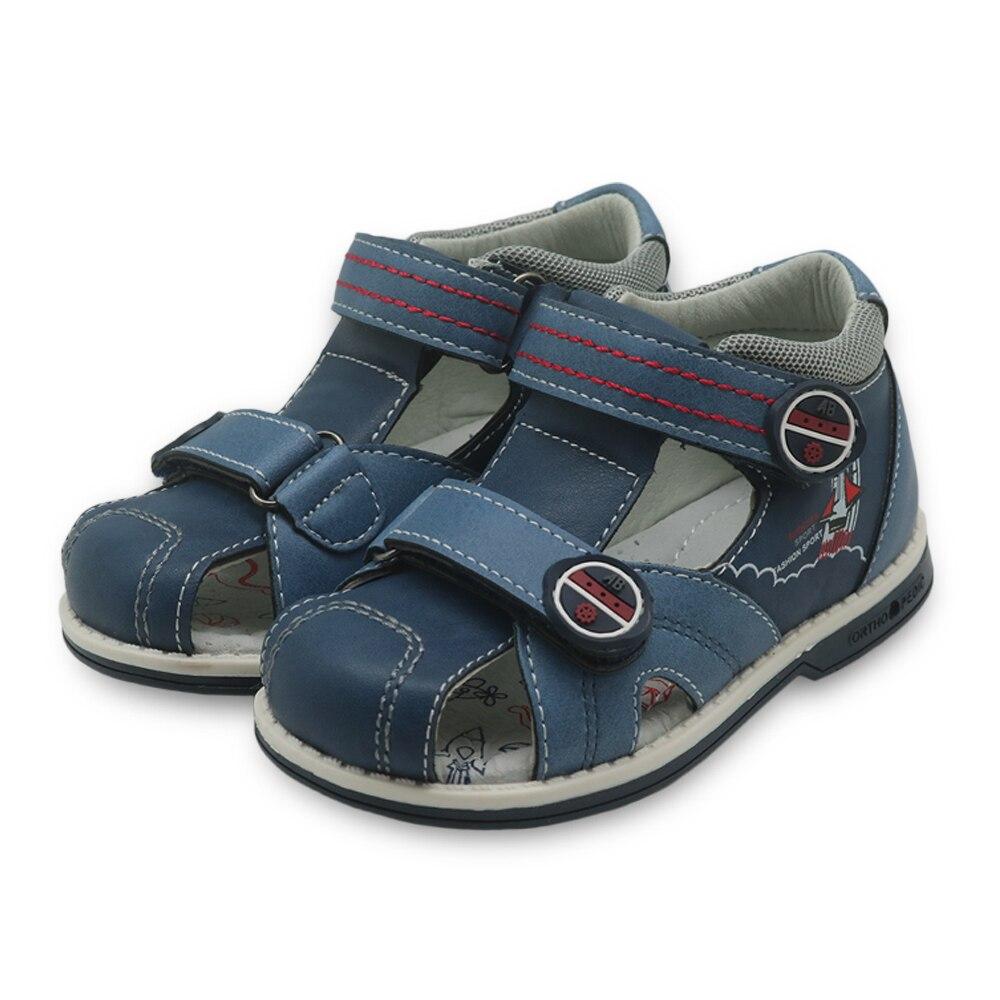 Image 5 - Apakowa New summer kids shoes brand closed toe toddler boys sandals orthopedic sport pu leather baby boys sandals shoesboys sandal shoessummer kids shoesboys sandals -