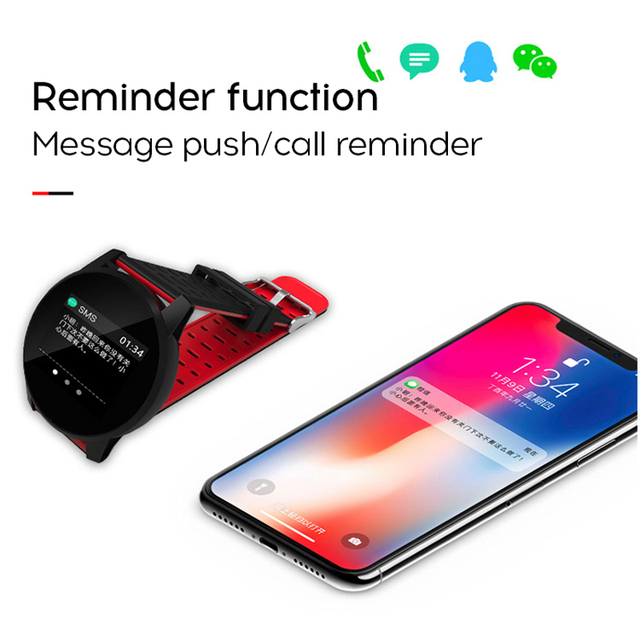 MAFAM Smart Watch Men Smartwatch Running Heart Rate Blood Pressure Oxygen Monitor Fitness Tracker Pedometer reloj inteligente