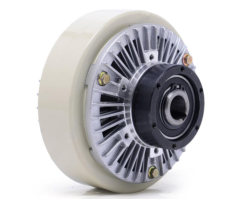 Magnetic Powder Clutch flange Input/hollow Shaft Output/hollow Shaft Install/rotational Shell 25n.m