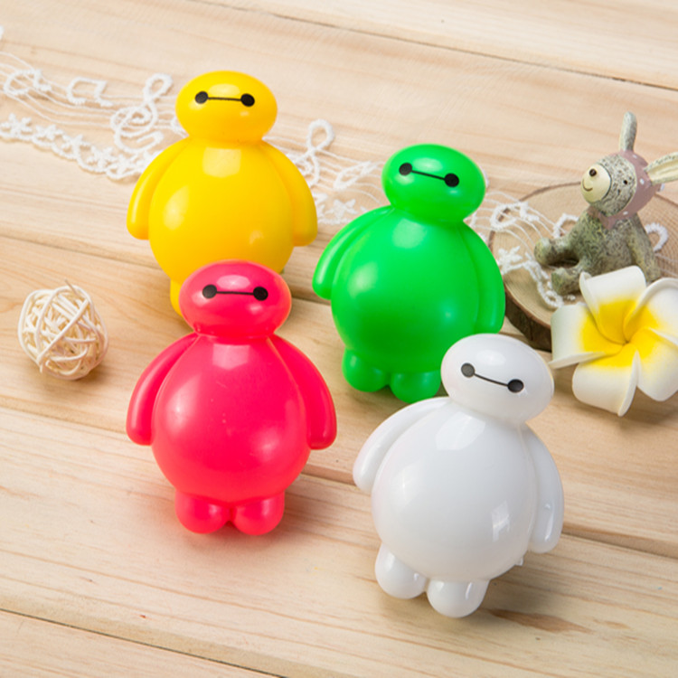 With Switch LED Nightlight creative baby feeding night light bedside night light white cartoon children unplugged white