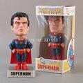 DC Universe Superman FUNKO Wacky Wobbler Bobble Head PVC Figura de Acción de Recogida de Juguetes Modelo Muñeca Envío Gratis