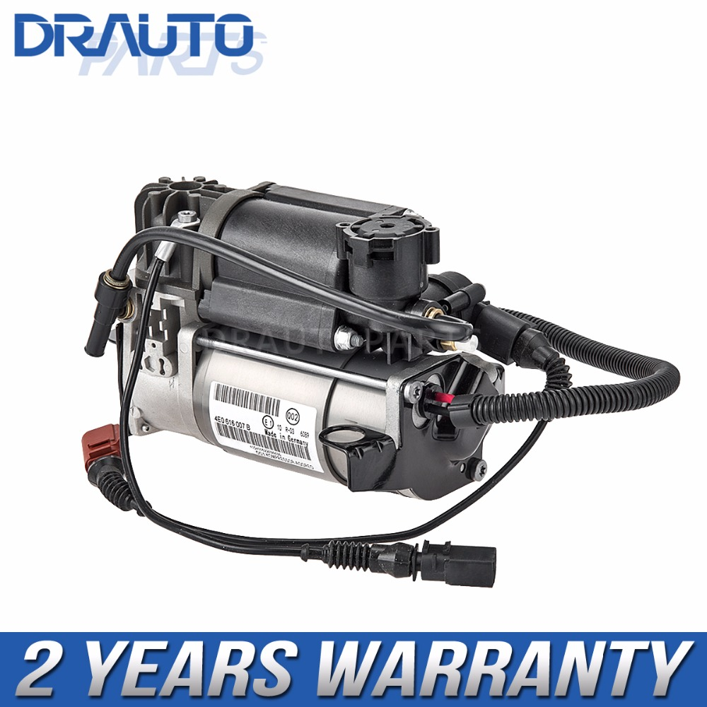 Air Suspension Compressor Pump For <font><b>AUDI</b></font> <font><b>A8</b></font> <font><b>D3</b></font> 4E--6/8 Cylinder OEM 4E0 616 007B image