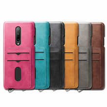 OnePlus7 Pro Wallet Card Pocket case For OnePlus 7 Pro Case Leather Back Cover Phone Cases OnePlus 7pro Casing