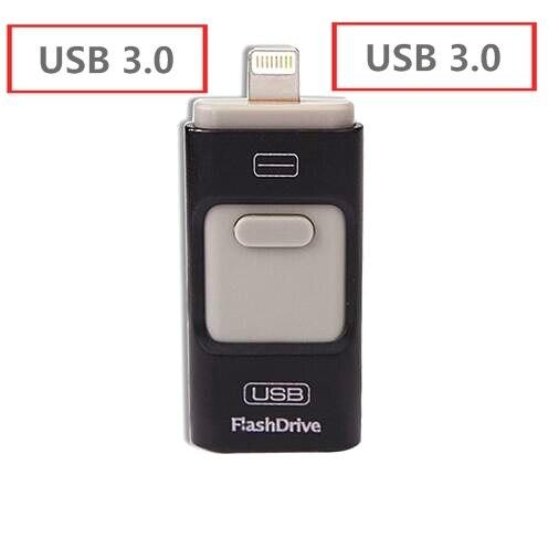 Best Choice  pendrive OTG  usb 3.0 flash drive 16GB 32GB 64GB 128GB 256GB 512GB for iphone 6/6s/6s/7plus drive usb memory stick