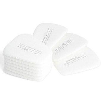 10PCS 5N11 Respirator Filters Cotton Gas Mask Facepiece Respirator Replacement for 5000 6000 Series Cartridges N95