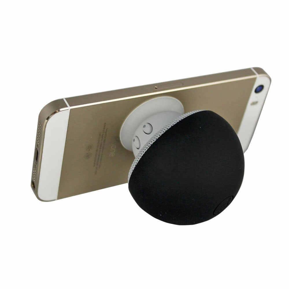 Mini najlepsze prezenty magnetyczne przenośny subwoofer Mp3 odtwarzacz telefon komórkowy śliczne grzyb styl bezprzewodowy zestaw słuchawkowy Stereo głośnik bluetooth