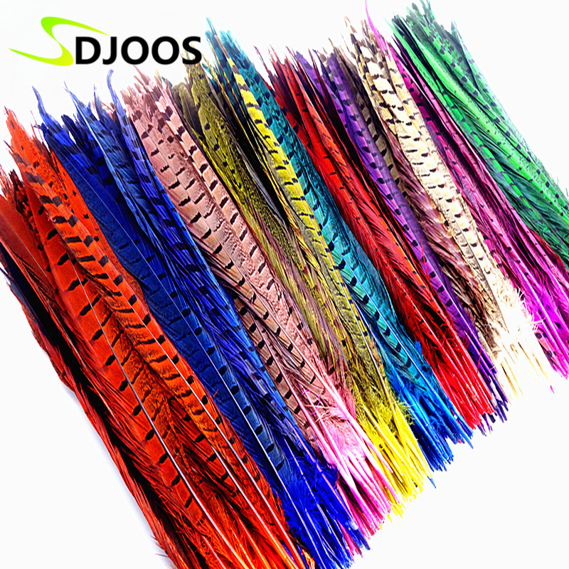 Buy 50pcs dyed pheasant feather natural for Where to buy craft feathers