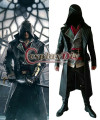 Assassins Creed Cosplay Adulto Hombres Assassins Creed Sindicato Jacob D0314 Frye Halloween Costume Cosplay Por Encargo