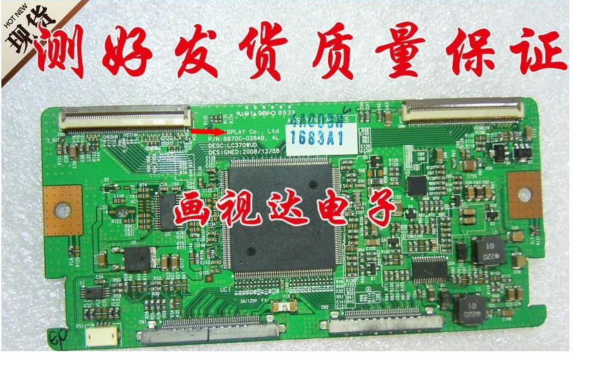 Lc370wud 6870c-0264b Logic Board Connect With T-CON Connect Board