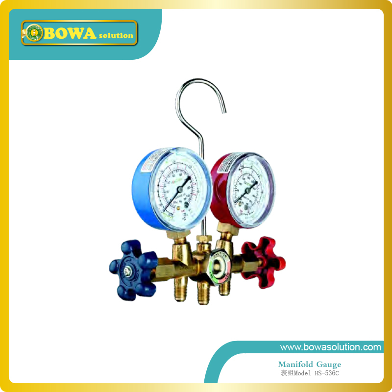 R502, R12 and R22 manifold set with copper valve body for home appliance equipment  цены