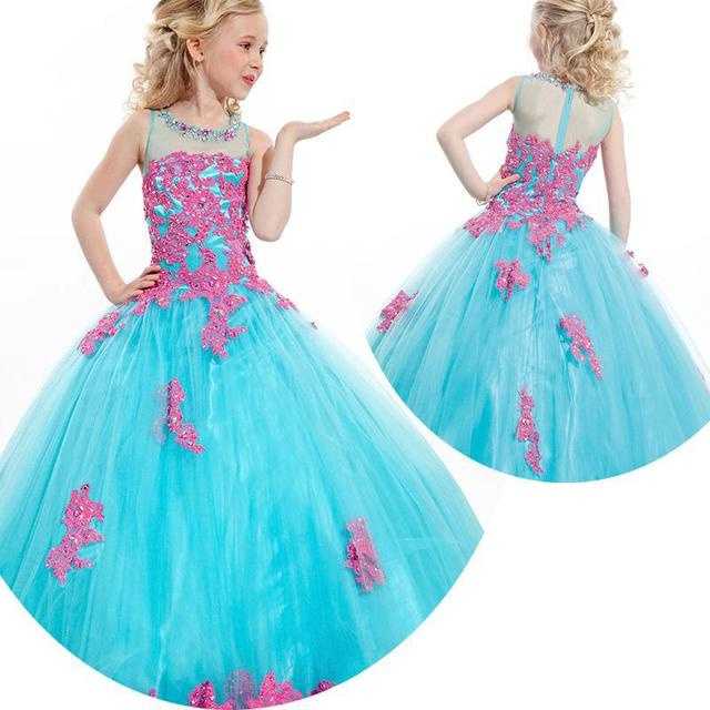 Beauty Pageant Dresses For Little Girls Pageant Gowns 2015 10 Kids ...