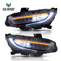 Vland Car Light Assembly Modified Head light For Honda Civic Headlight 2016 UP Font Accessories Car Headlights
