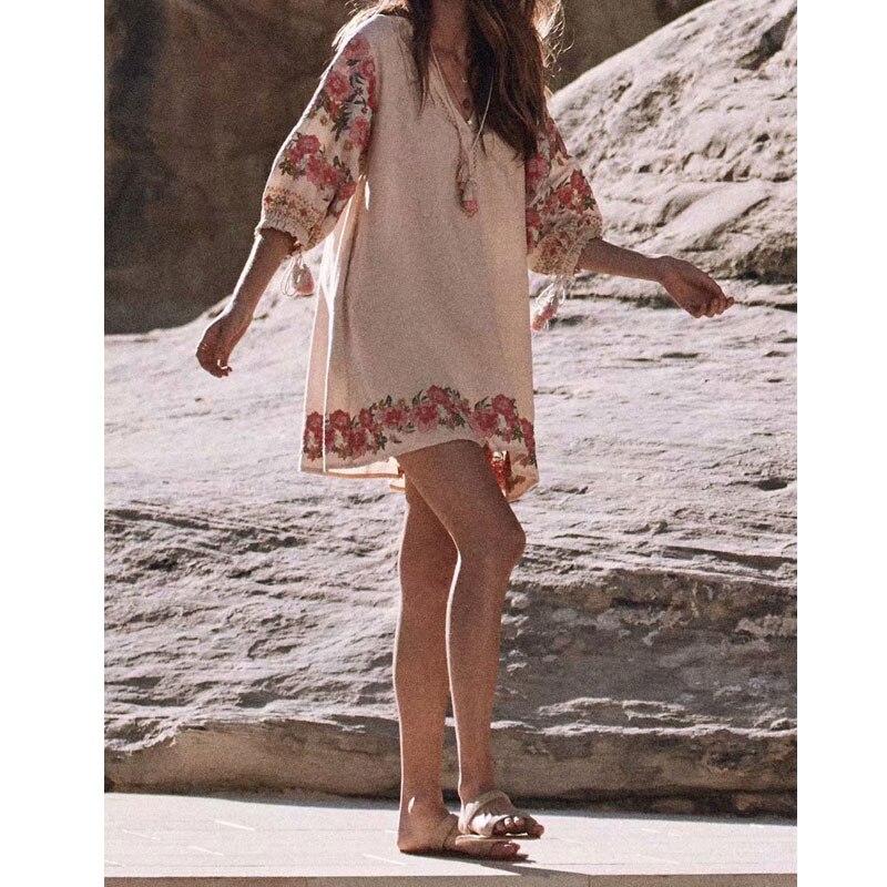 2019 été Crinkly Maxi femmes robe col en v dos nu Sexy bouton fermetures devant avec fente robes longues Boho plage Vestidos