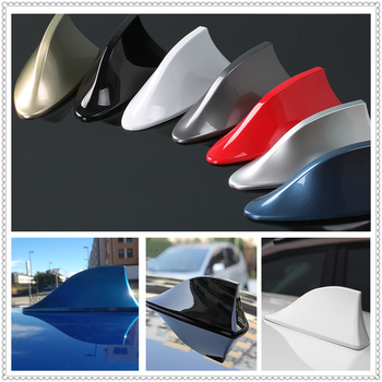 Car Shark Fin Antenna Auto Radio Signal Aerial Roof Antennas for BMW E34 F10 F20 E92 E38 E91 E53 E70 X5 M M3 image