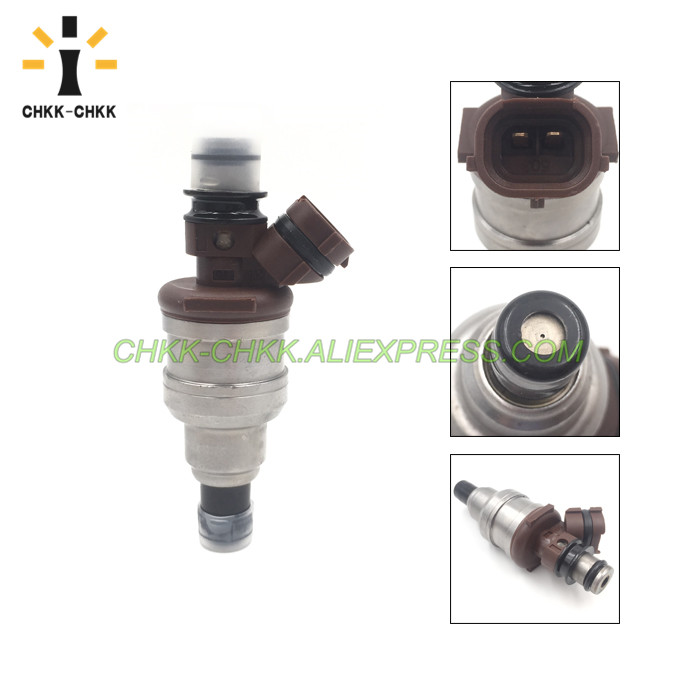 CHKK CHKK Car Accessory 23250 65020 23209 65020 fuel injector for TOYOTA 4RUNNER TRUCK T100 3VZE 1988 1995 in Fuel Injector from Automobiles Motorcycles