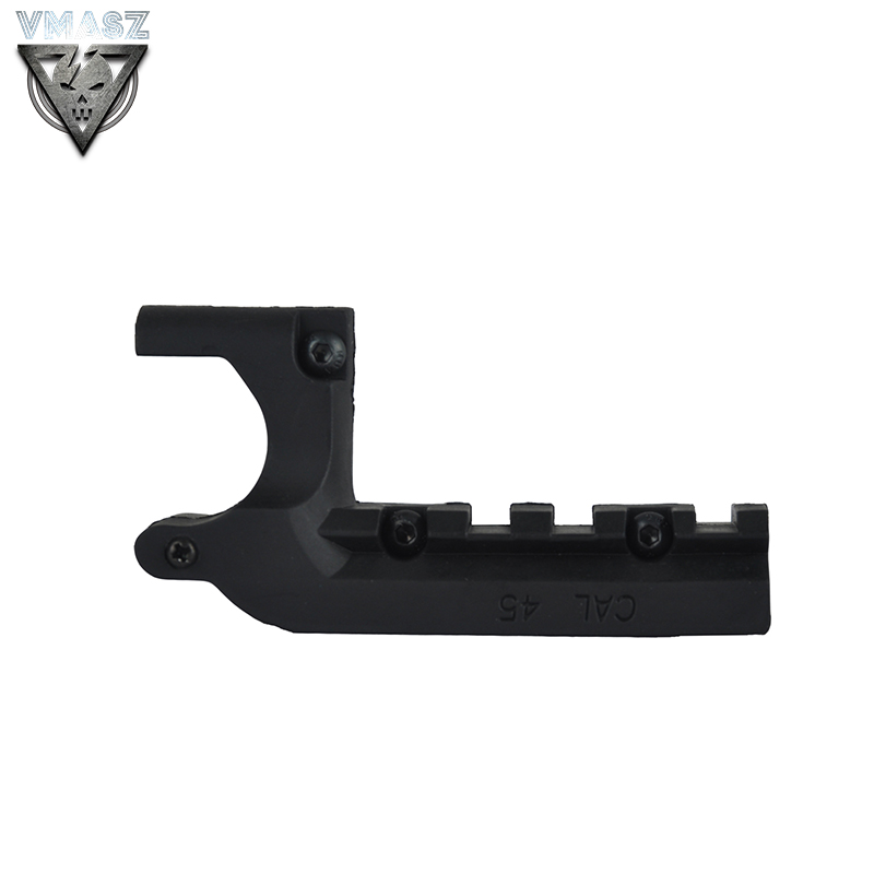 VMASZ Airsoft Clot 1911 M1911 45 Pistol Picatinny 20mm Under Rail Mount Pistol Rail Adapter Laser Mount Accessories in Scope Mounts Accessories from Sports Entertainment