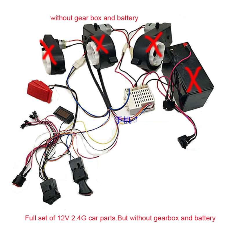 receiver wire diagram