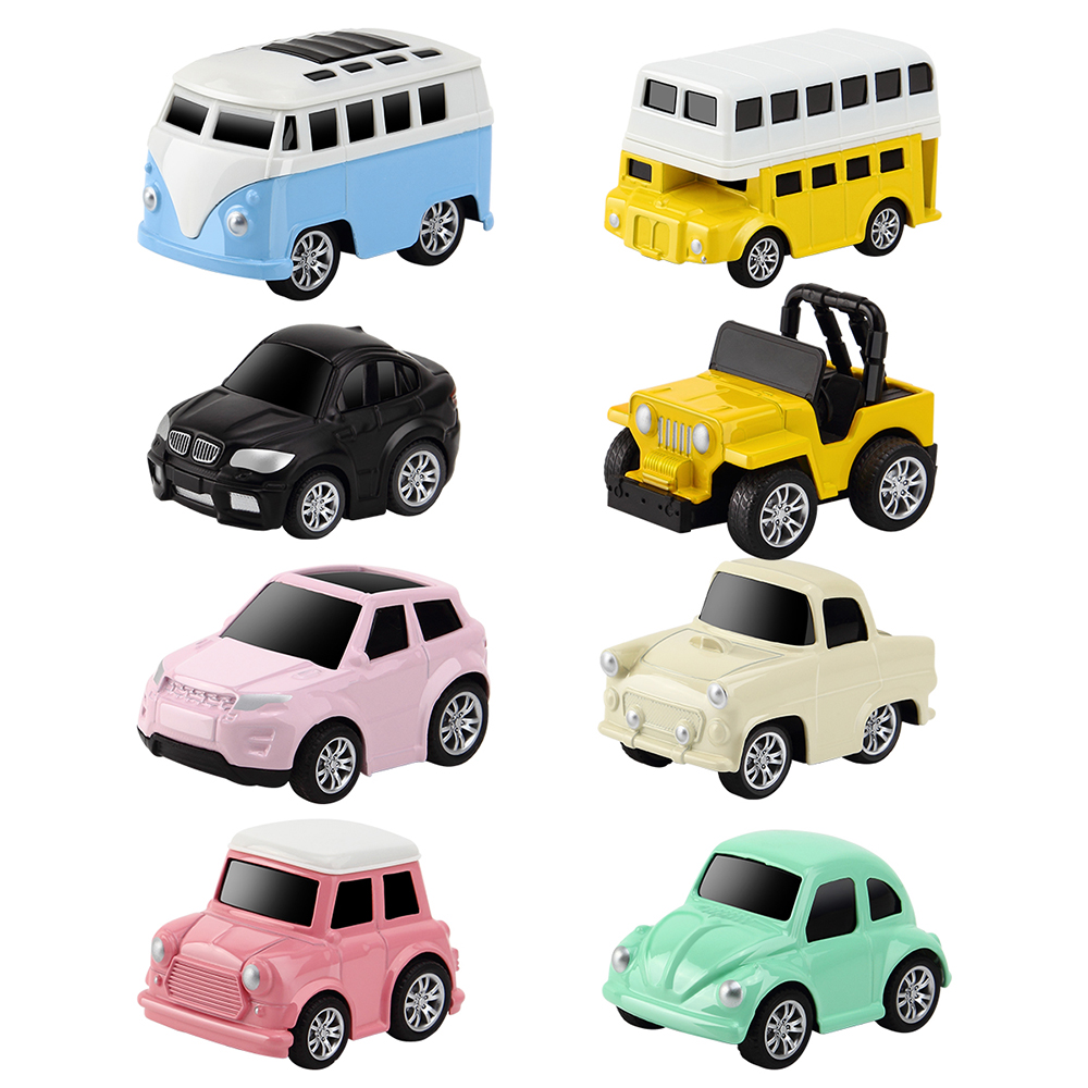 8pcsset mini car pull back car toy small diecast alloy metal model toys for