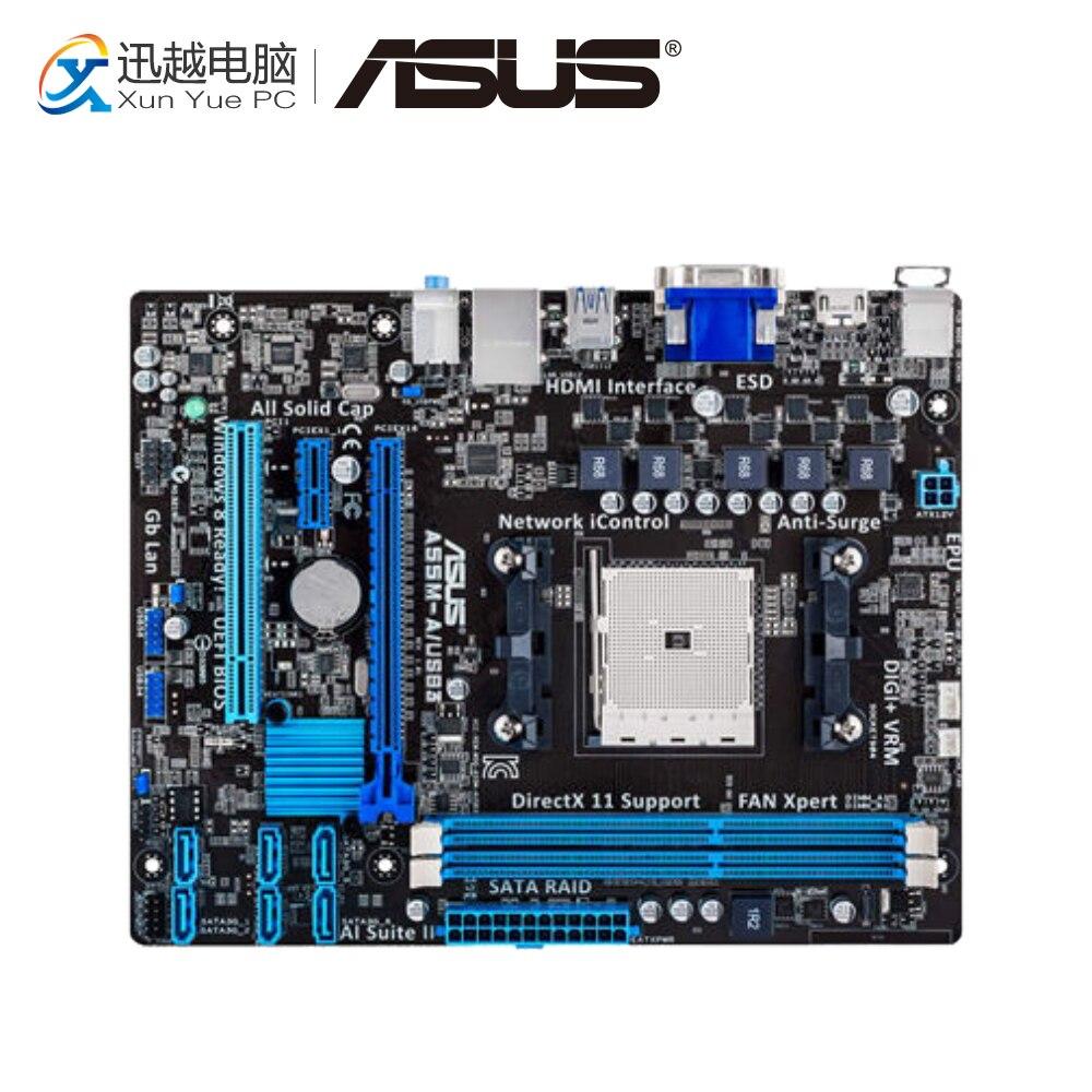 все цены на Asus A55M-A/USB3 Desktop Motherboard A55M A55M-A/USB3 Socket AMD FM2 DDR3 USB3.0 ATX онлайн