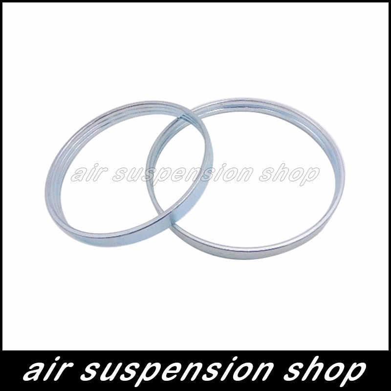 2 Pcs Pegas Suspensi Udara Kandung Kemih Crimping Cincin Belakang untuk Mercedes W220 Lengan Karet 2203205013 2203202338