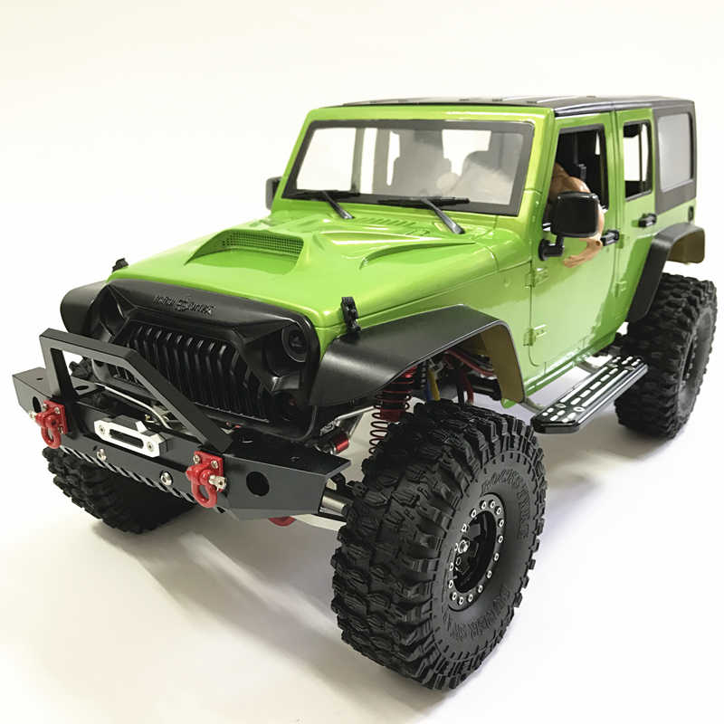 Detail Feedback Questions about 1/10 METAL RC Rock crawler