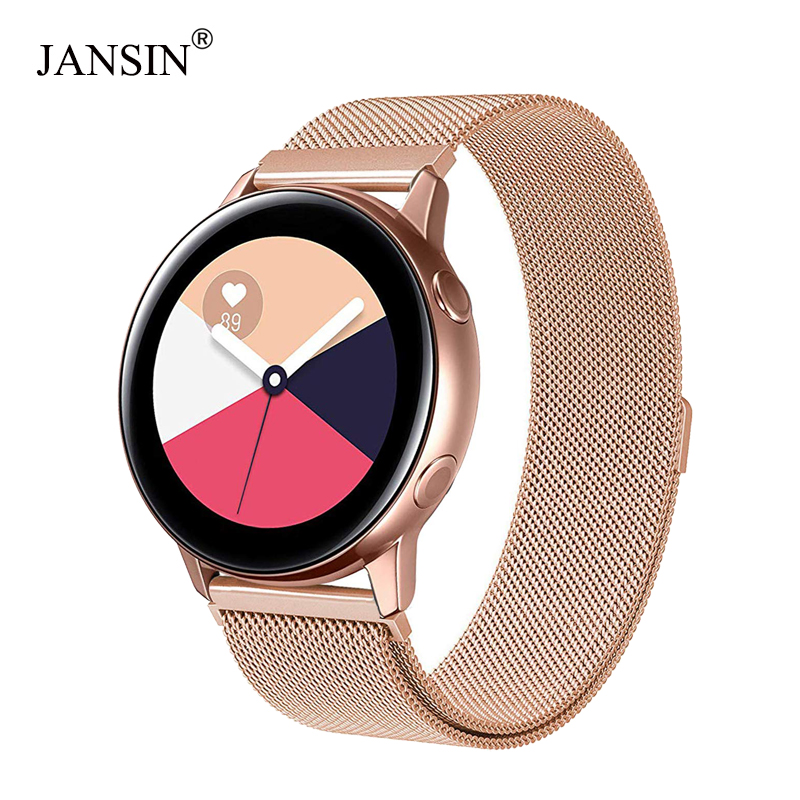 Milanese Loop Band For Samsung Galaxy Watch Active Stainless Steel Strap Sport Bracelet For Samsung Galaxy Watch 42mm Watch Band