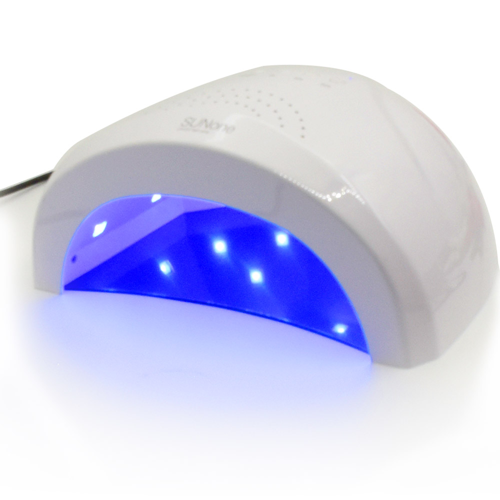 SUNone 24W/48W LED UV Lamp Nail Dryer Nail Beauty Salon Makeup Cosmetic Nail Dryer Polish Machine for Curing Nail Art Tools mdskl 48w led uv lamp nail dryer self clocking a minute of rapid drying golden electric nail art tools exemption from postage