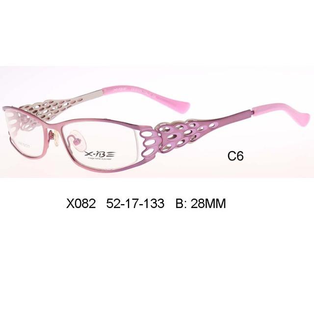 Peacock patrón de la pluma Gafas Marco señora Lunettes de Vue Enfant Óptica Gafas gafas graduadas gafas de grau feminino