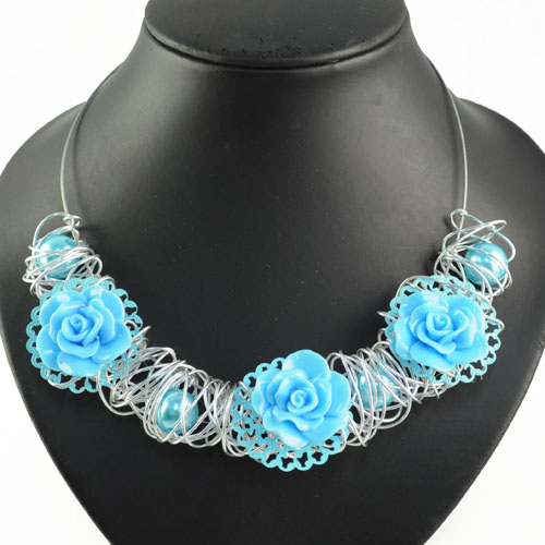 Handmade Wire Necklaces | ᗔfashion Bohemian Choker For Women Necklace Handmade Wire Winding