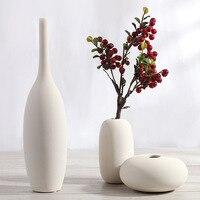 Европа Стиль Рождество украшения дома ваза Керамика Настольный цветочный Вазы спиральный узор цветок вод Вазы для украшения