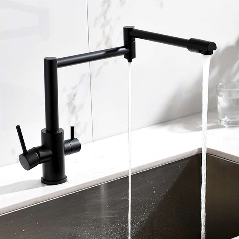 MTTUZK Brass Hot Cold Pure Water 3 in1 Kitchen Faucet Pure Faucet Drinking Water Mixer Tap Double Water Outlet Faucet MTTUZK Brass Hot Cold Pure Water 3 in1 Kitchen Faucet Pure Faucet Drinking Water Mixer Tap Double Water Outlet Faucet