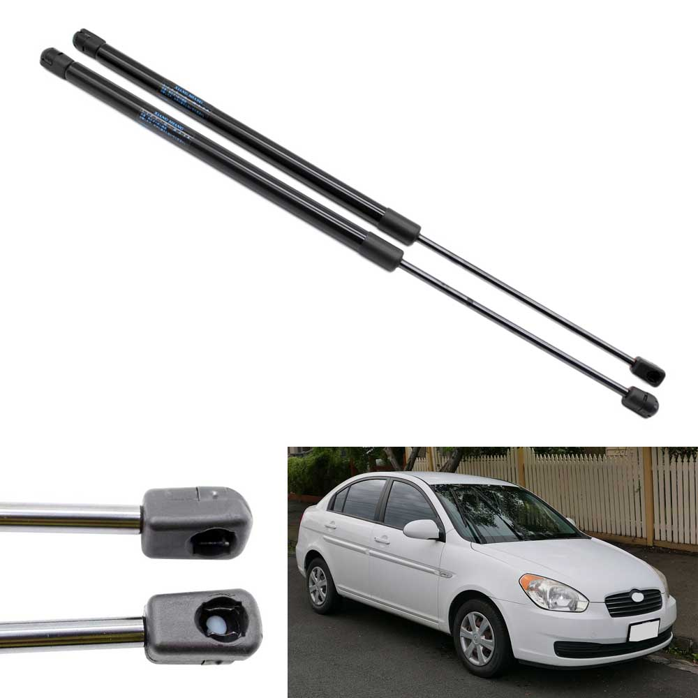 2pcs Auto Tailgate Rear Hatch Boot Lift Supports Shock Car Gas Struts for  Hyundai Accent Hatchback 2007 2010 2011 21.26 inch -in Strut Bars from  Automobiles ...