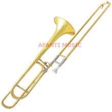 Afanti Music Bb тон/желтая латунь/золото Отделка тромбон(ATB-102
